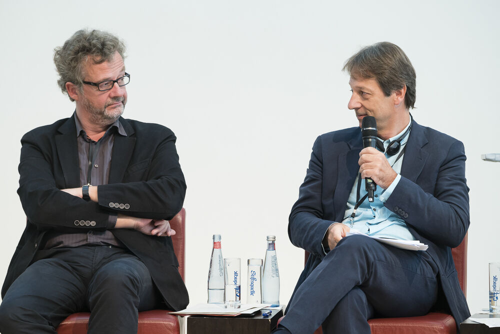 from left: Dr Christian Esch and Luca Bergamo. © Sebastian Becker/ecce