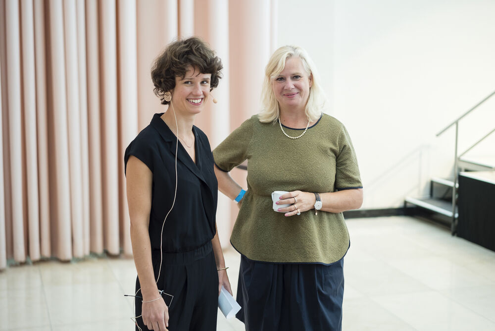 from left: Antonia Blau and Barbara Gessler. © Sebastian Becker/ecce